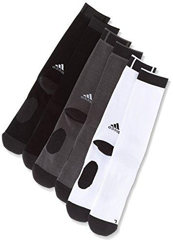 (アディダス)adidas トレーニングウェア クライマトレーニングソックス 3P MKV39 [ユニセックス] BK3896 ホワイト/トレースグレー S17/ブラック 28-30cm