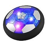 ZOTO Air Power Soccer, Kids Toys Juego de Pelota de Entrenamiento Air Power, Juego de Pelota Deportivo Recargable con Luz LED Colorida, Juguete de Disco de Fútbol de Aire para Interiores y Exteriores