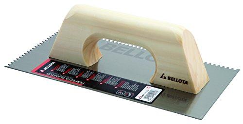 Bellota 5871-00 Peine diente triangular, mango de madera