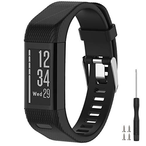 Vozehui Compatible with Garmin Vivosmart HR+ Watch Bands, Soft...