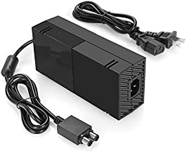 Xbox One Power Supply [2021 Enhanced Quieter Version] Xbox Plug AC Adapter Charger with Power Cord Best for Charging - Brick Style - Great Charger Accessory Kit with Cable