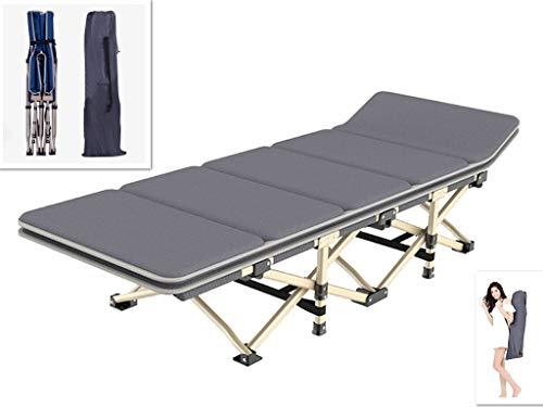 【ZOOBLY】キャンプ ベッド 簡易ベッド シングル 折り畳みベッド コンパクト アウトドア ベッド 軽量 防災や来客用ベッド 携帯便利 折りたたみベッド 組立不要 耐荷重180kg