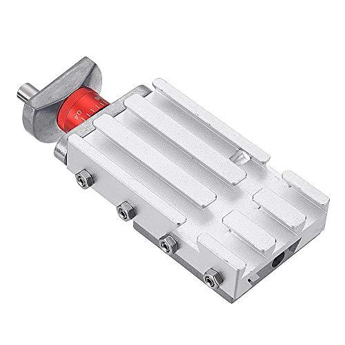 Hvlystory Z008M Kreuzschlitten aus Metall, 118 mm, für Mini-Drehbank, Entlastungsachse Y/Z