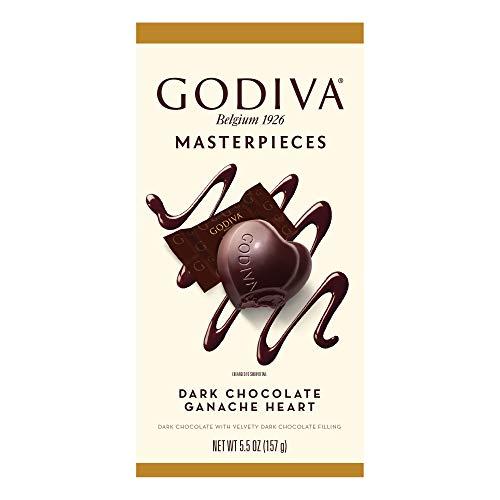 Godiva Masterpieces Dark Chocolate Ganache Heart - 5.5oz