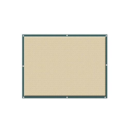 Lulalula - Toldo de arena cuadrado (2 x 2 m), protector solar resistente de HDPE, bloque UV para patio, jardín, instalaciones y actividades al aire libre