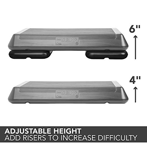 The Step Original Aerobic Platform – Circuit Size, 2 Risers