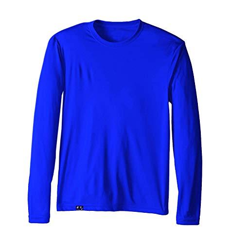 Camiseta UV Protection Masculina UV50+ Tecido Ice Dry Fit Secagem Rápida G Royal