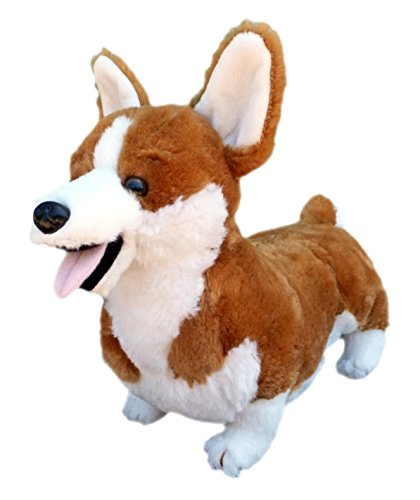 Adore 13' Standing Cory The Farting Corgi Dog Stuffed Animal Plush Toy