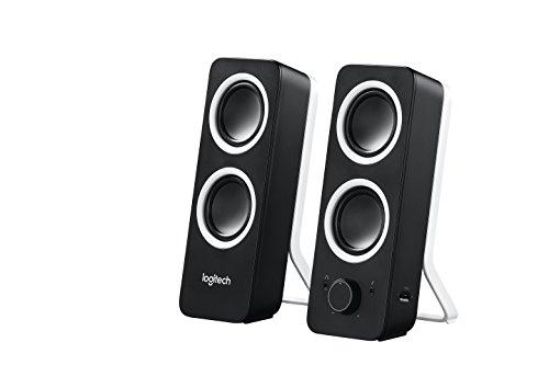 Logitech® Z200 Stereo Speakers - Midnight Black - 3.5 MM - N/A...