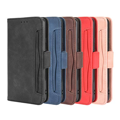 Aokicase for Galaxy A71 5G Leather Wallet Case Samsung Galaxy A71 5G Case Simple Wallet Protective Cover Case Leather Cover handercase Flip Case, TPU Galaxy A71 5G Blue
