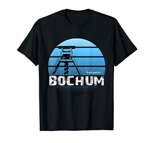 Zeche, Förderturm Bochum Ruhrgebiet Bochum ich komm aus dir T-Shirt
