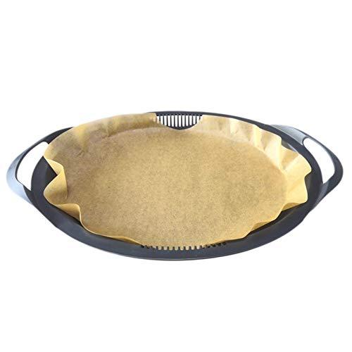 20stk Einweg Backpapier für Varoma Thermomix TM6 TM5 TM31 - Oval Dampfgar Papier 33cm Lange, Antihaft, BPA Frei, Naturbraun für Vorwerk Küchenmaschine Zubehör