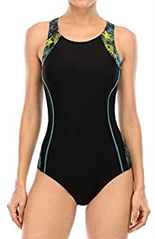beautyin Pro Racing Swimwuit for Women Polyester Quick Dry Bathing Suit for Pool
