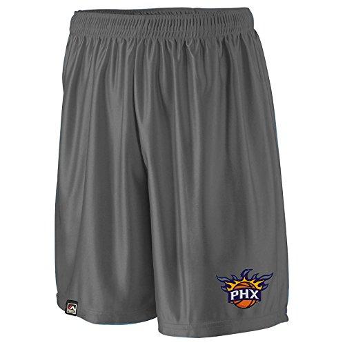 NBA Phoenix Suns Men's B&T Poly Fleece Team Shorts, 1X, Charcoal