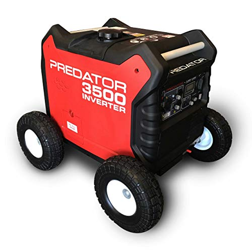 Autoworks All Terrain Wheel Kit, Fits Predator 3500 Generator, Solid Never Flat Tires