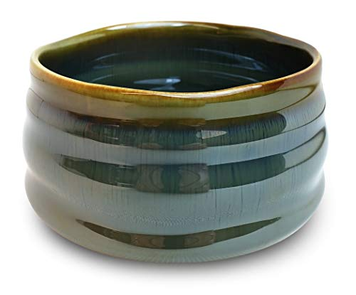Why Should You Buy Matcha Bowl Chawan Traditional Hand Crafted Tea Bowl for Tea Ceremony or Everyday...