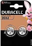 Duracell - Lote de 2 Pilas de botón (Litio, 2032 CR2032 DL2032)