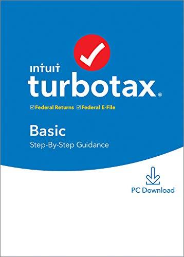TurboTax Basic 2020 Tax Software [PC Download]