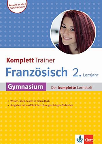 Klett KomplettTrainer Gymnasium Französisch 2. Lernjahr: Der komplette Lernstoff