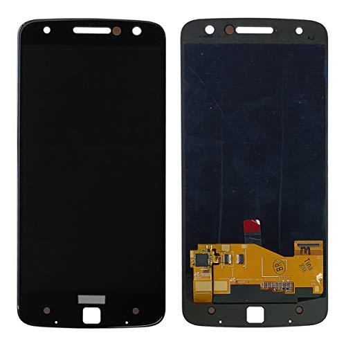 swark AMOLED Bildschirm kompatibel mit Motorola Moto Z Droid XLTE XT1650 XT1650-01 XT1650-03 XT1650-05 14 cm (5,5 Zoll) LCD-Bildschirm Touchscreen + Werkzeug