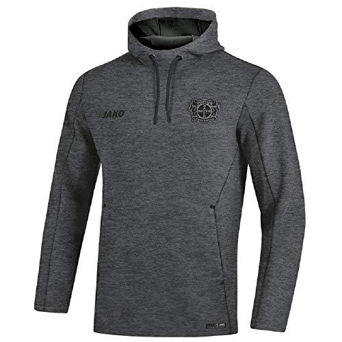 JAKO Bayer 04 Leverkusen Premium Hoody (M, anthrazit meliert)