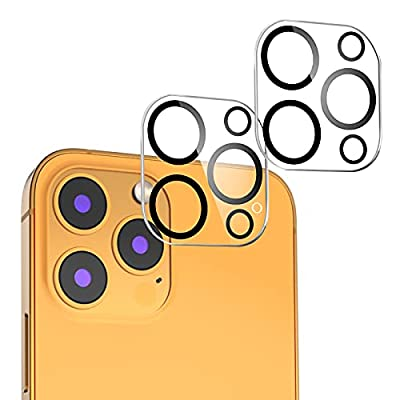 i-Phone13 pro/promax 用 カメラフィルム Mimall 日本旭硝子素材 露出オーバー防止 キズ防止 耐衝撃 硬度9H 貼り付けやすい 撥水撥油 指紋防止 カメラ全体保護 レンズフィルム (2枚)