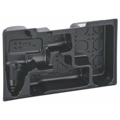 BOSCH Einlage für L-Boxx 102, 203 x 61 x 332 mm, für GDR/GSR 10,8 nur Werkzeug, 2608438014