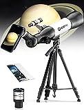 ECOOPRO Telescope for Kids Beginners, 70mm Aperture 500mm AZ Mount Astronomical Refracting...