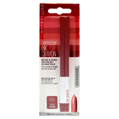 Maybelline New York - Crayon Rouge à Lèvres - Superstay Ink -...