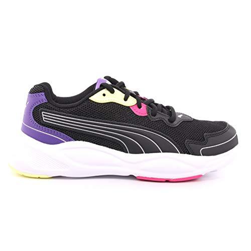 Puma 90s Runner Nu Wave, Zapatillas de Running, Black/Black, 24.5 EU