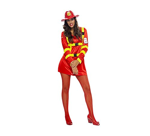 disfraz mujer talla XL bombero