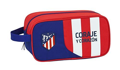 safta 812045682 Bolso Zapatillas zapatillero Atlético de Madrid, Multicolor