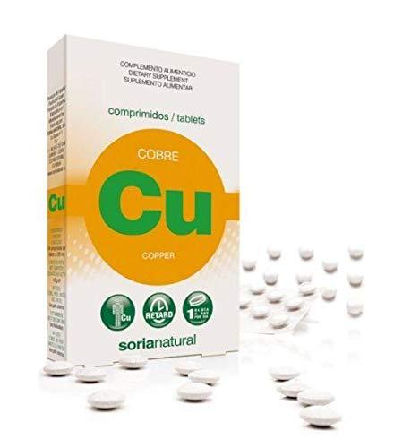 Soria Natural Cobre Retard - 24 Tabletas