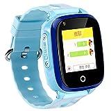 FWwD Intelligente Uhr der Kinder, 4G Telefonuhr der Kinder GPS, die Wechselsprechanlage WIFI-Screen-Kamera-Sozialunterhaltung PAS-Anrufjungenmädchen in Position bringt