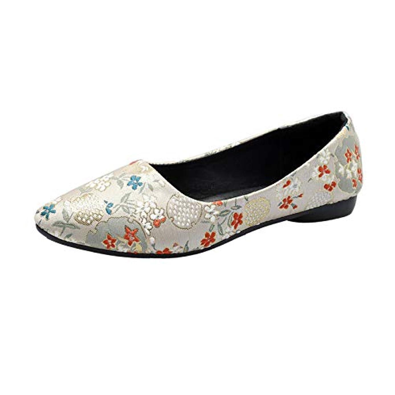 他にベリベリフラットシューズ レディース Hodarey 浅口 尖 刺繍花フラットシューズワンペダル 怠惰な靴 カジュアルシューズ シングルシューズ ファッション 女性の靴 かわいい 履きやすい 美脚 人気 安い レディースローファー カジュアル フラットシューズ