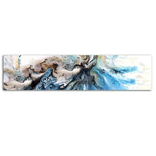 DFSDG Drucker Kunst abstrakt malerei küste wohnkultur Moderne leinwand drucke Geschenk Wand dekor große größen strandhaus Kunst (Size : 50x215cm Frameless)