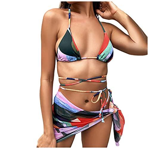 Bikinis Baratos Mujer, Bañadores 2021 Mujer, Bañador Rojo Mujer, Bikini Deportivo Mujer,...