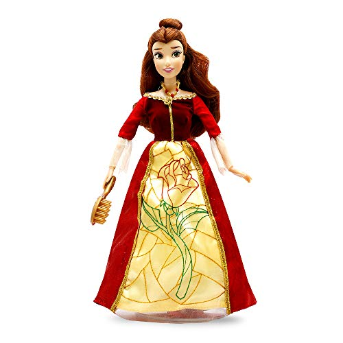 Disney Belle Premium Doll with Light-Up Dress – Beauty and The Beast – 11 Inches