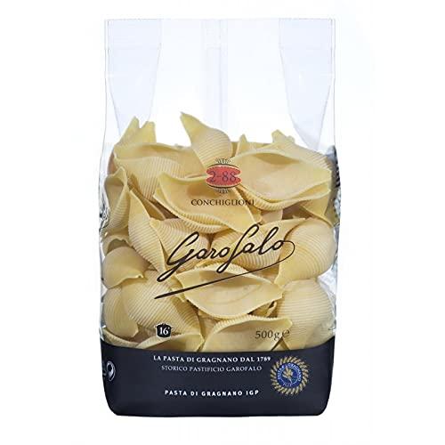 GAROFALO - Pâtes Conchiglioni 500G - Lot De 2