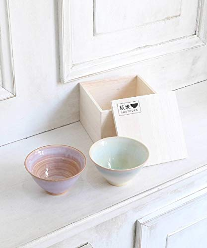 AfternoonTea(アフターヌーンティー)萩焼飯碗ペアセット