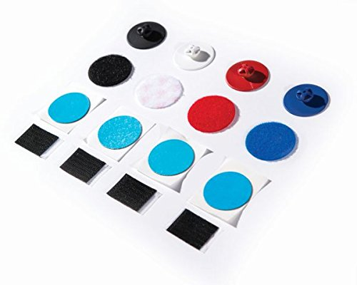 Roko Quick Strap Ersatzbefestigung für rechts mit Clip blau