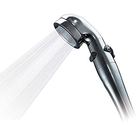 Arromic (アラミック) シャワーヘッド 水量切替 手元ストップ (節水シャワープロ・プレミアム) 節水 増圧 【日本製】 ST-X3B