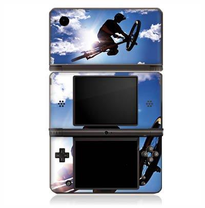 DeinDesign Skin kompatibel mit Nintendo DSi XL Folie Sticker Fahrrad Mountainbike Himmel