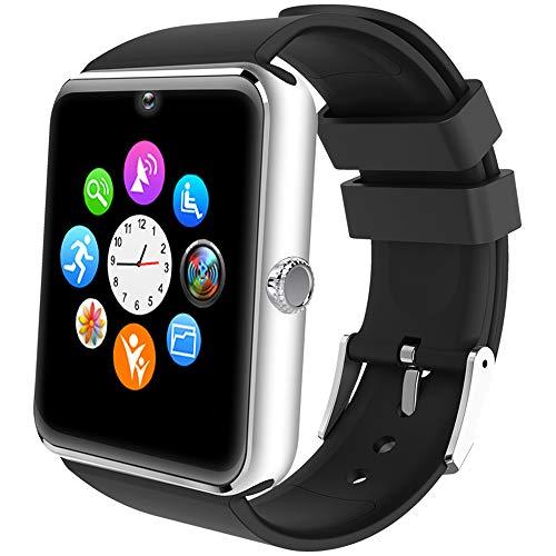 Willful Smartwatch Uomo Orologio Telefono con SIM SD Card Slot Smart Watch Bluetooth per Android Rispondere Chiamate Orologio Sportivo Fitness Tracker Contapassi Calorie Conta con Fotocamera Sveglia