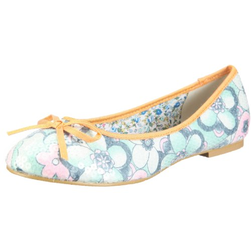 Dolly Do Damen Ballerina Ballerinas, Blau/Sky Combo, 37 EU
