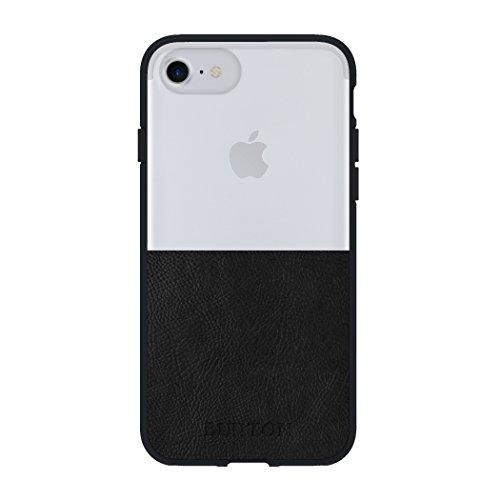 Burton Telefono Cellulare Custodia per iPhone 7/6/6S–Chiaro/Nero in Pelle