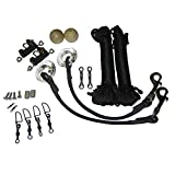 Taco Marine RK-0001SB Standard Rigging Kit,Black