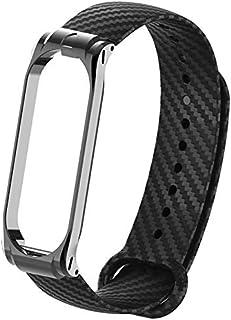Carbon Fiber Replacement Wristband for Xiaomi Mi Band 4 Smart