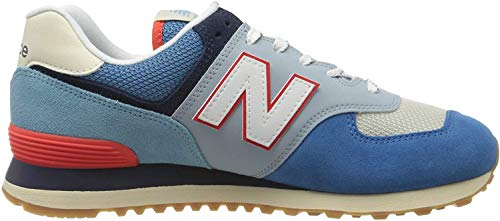 New Balance Herren 574v2 Sneaker, Blau (Blue SOS), 44 EU