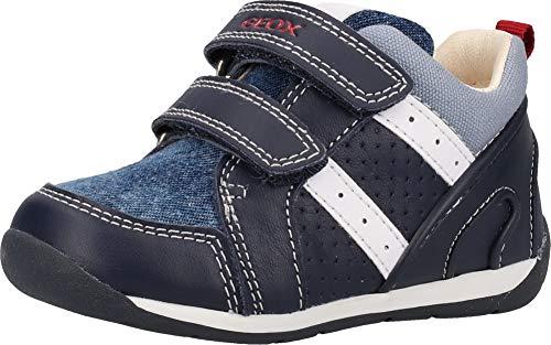 Geox Baby Jungen B Each Boy B Sneaker, Blau (Navy/Lt Blue C0693), 24 EU